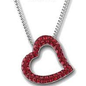 Swarovski heart truth pendant necklace